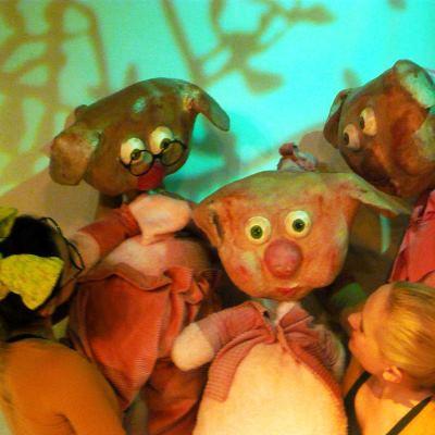 Θέατρο για Παιδιά Τα Τρία Γουρουνάκια