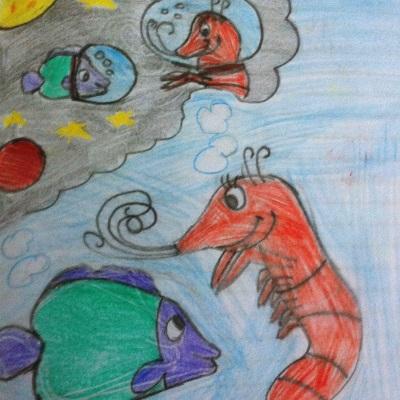 Ένα Ψαράκι στο Φεγγάρι