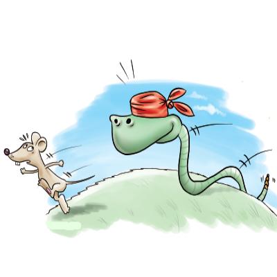 Πως τα φίδια εντοπίζουν την λεία τους τους