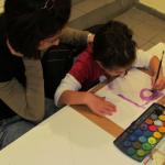 Ζωγραφική μαζί με τους γονείς